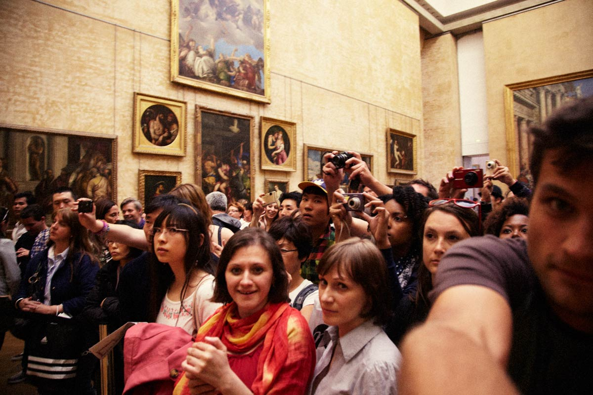The Mona Lisa, Louvre, Paris, France