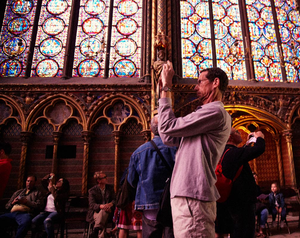 Sainte-Chapelle, Paris, France, No. II