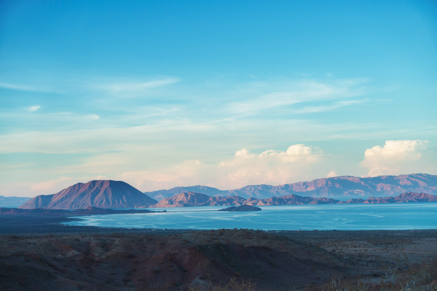 The Sea of Cortez near Bahia de Los Angeles, 2014