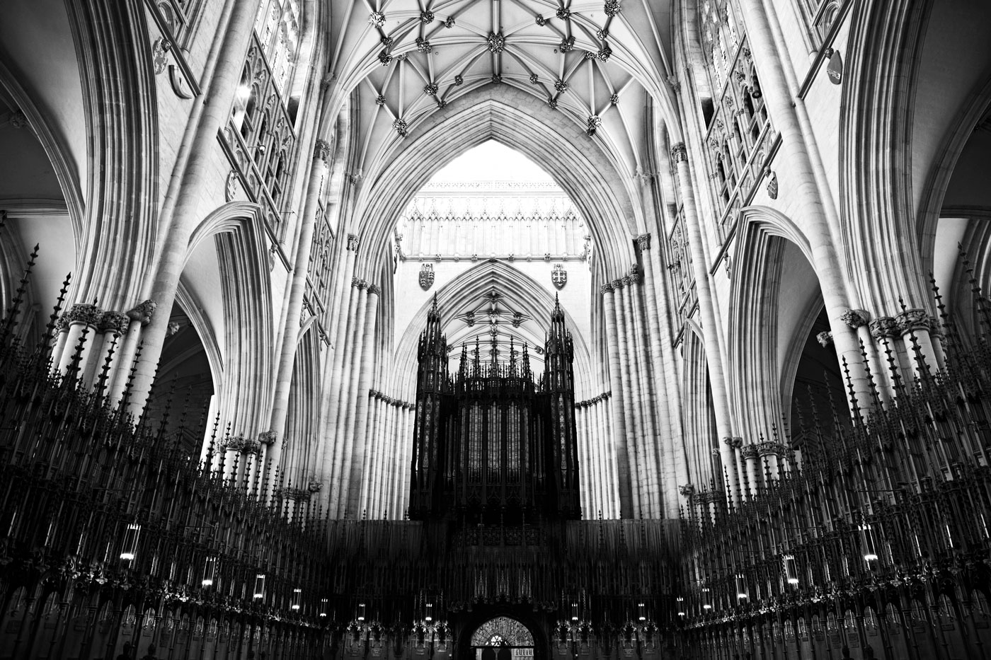 Choir, York Minster, York, England